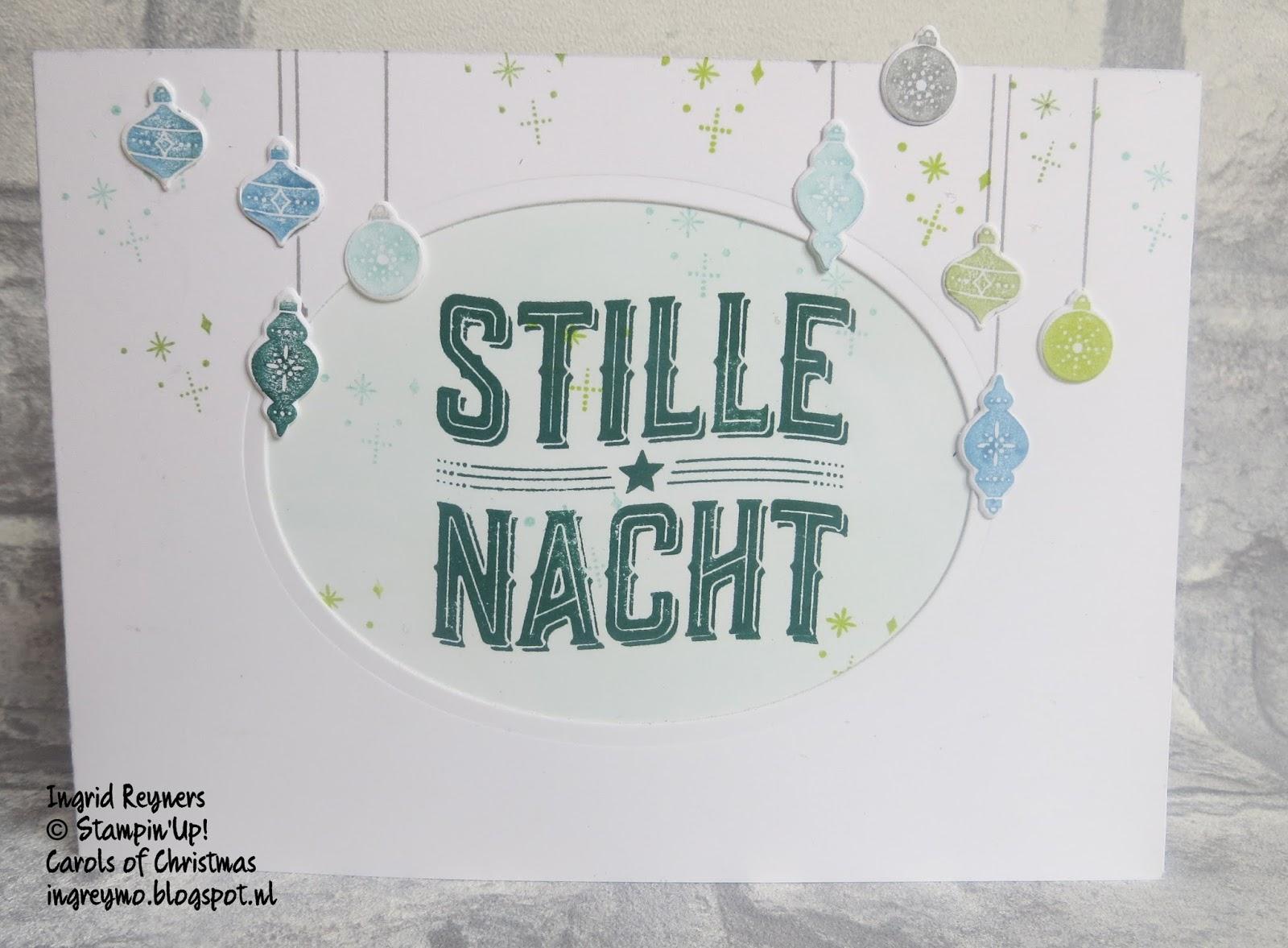 Ingrid\'s scrapfrutsels: Carols of Christmas #6
