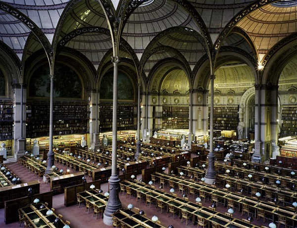 por Candida Höfer - Bibliothèque Nationale de France Paris XIII 1998, 1998