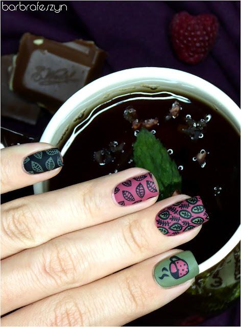 paznokcie herbata