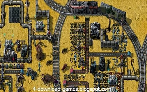تحميل لعبة مصنع الفضاء factorio للكمبيوتر
