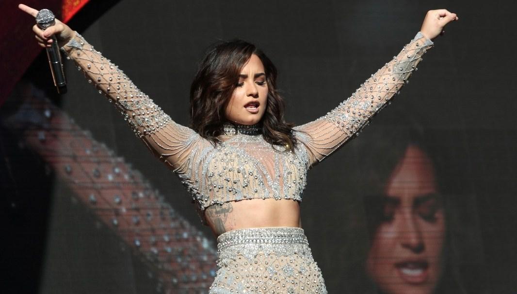 Demi Lovato se presenta en el Global Citizen Festival 2016