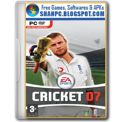 EA Sports Cricket 07 Free Download Highly Compressed
