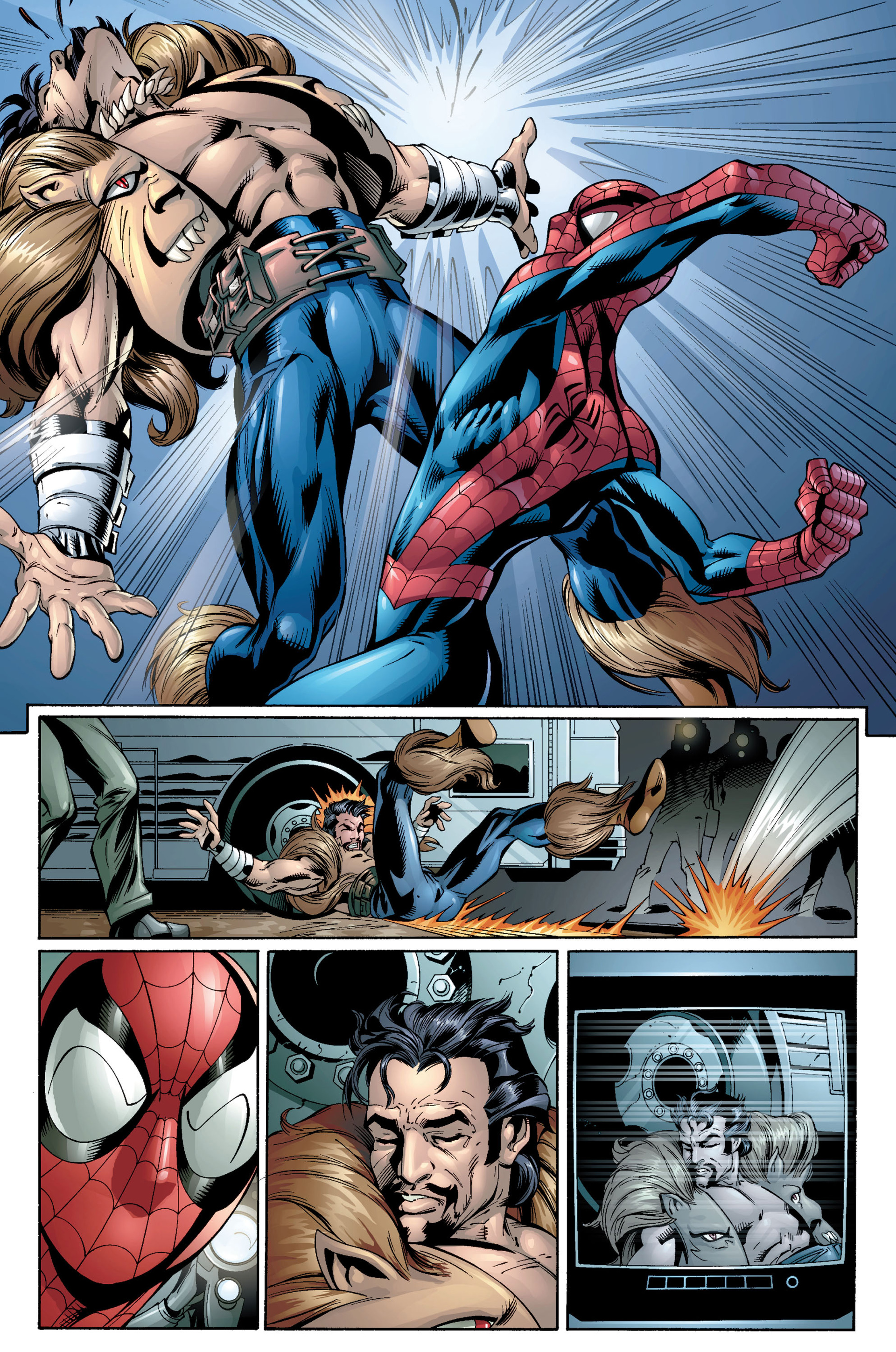Read online Ultimate Spider-Man (2000) comic -  Issue #21 - 5