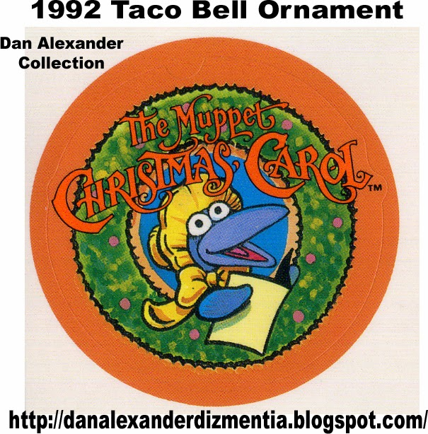 Taco Bell Christmas Hours.Dan Alexander Dizmentia The Muppet Christmas Carol At Taco Bell