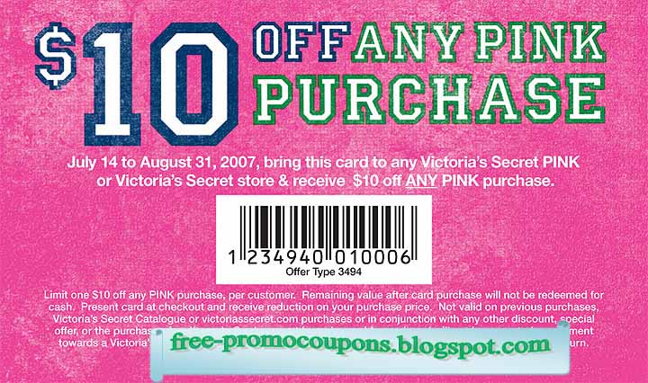 picture about Victoria Secret 10 Off Bra Printable Coupon referred to as Victoria solution discount coupons 2018 printable - How is salt h2o