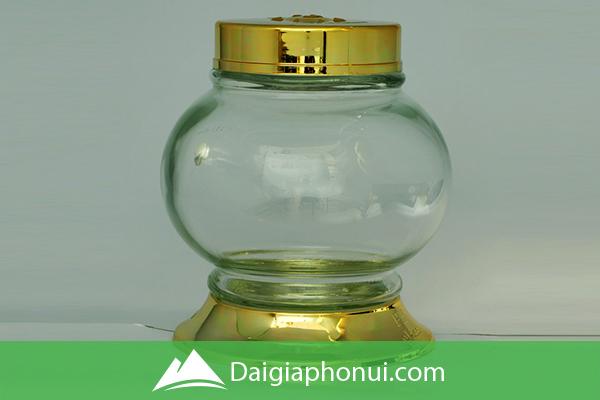 Bình Ngâm Rượu Việt Nam (Phú Hòa Glass) Đựng Trái Cây - Dai Gia Pho Nui