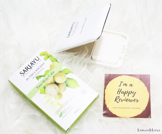 [SPONSORED REVIEW] SARIAYU PUTIH LANGSAT SKIN BRIGHTENING TWO WAY CAKE
