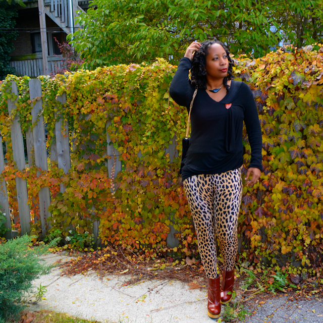 animal print leggings outfit ideas