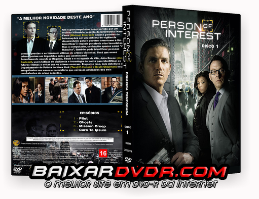 PERSON OF INTEREST – 1ª TEMPORADA COMPLETA DISCO 01 (2012) DUAL AUDIO DVD-R OFICIAL
