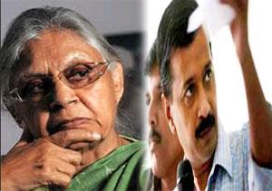 Arvind Kejriwal Vs Sheila Dixit