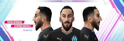 PES 6 Faces Kostas Mitroglou by Gabo CR Facemaker