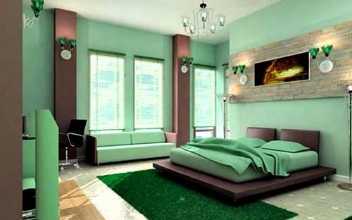60 Desain R Tidur Warna Hijau Minimalis Modern Simpel Dan Cerah Desainrumahnya