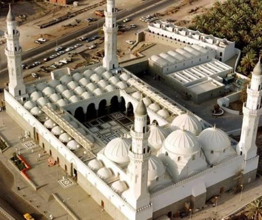 Kisah Masjid Pertama Didirikan Di Muka Bumi Oleh Rasulullah - Masjid Quba