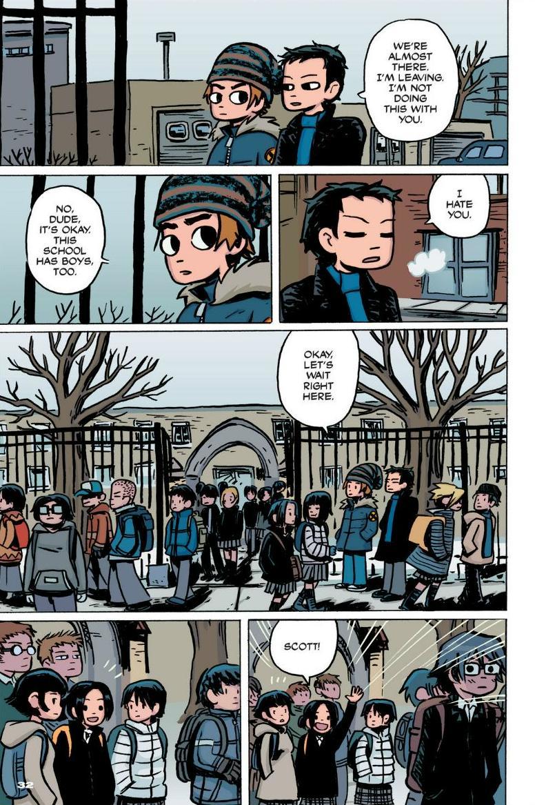 Read online Scott Pilgrim comic -  Issue #1 - 26