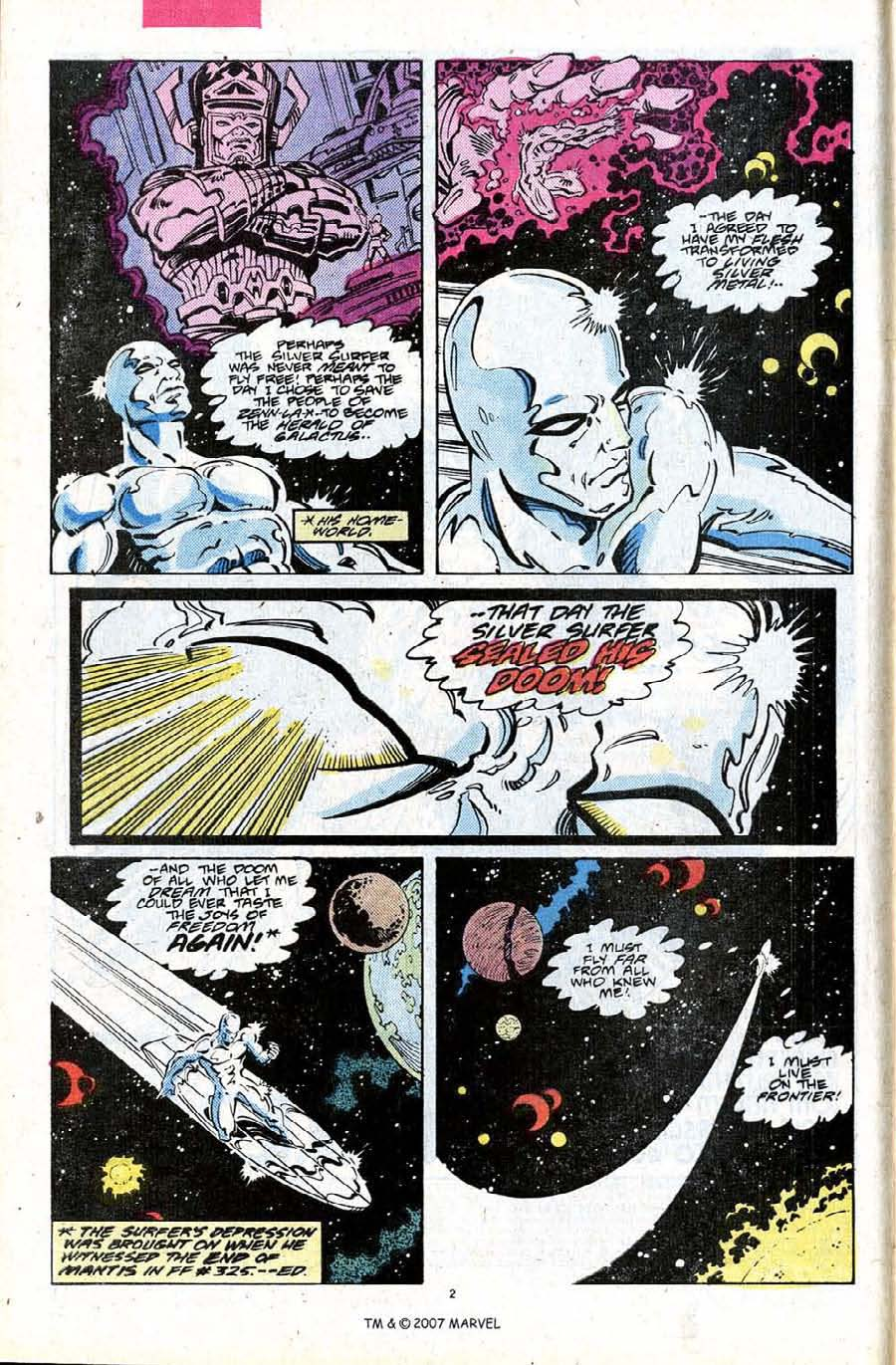 Read online Silver Surfer (1987) comic -  Issue #24 - 4