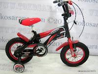 1 Sepeda Anak Erminio 1277 Super Sport 12 Inci