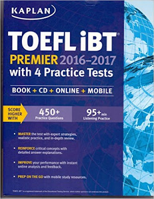 Download Free Kalpan Toefl iBT Premier 2016-2017 Book PDF