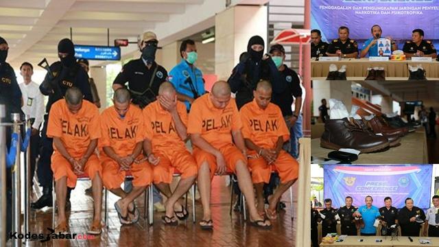 BNN Bersama Bea Cukai Berhasil Ungkap Lima Kasus Penyelundupan Narkotika