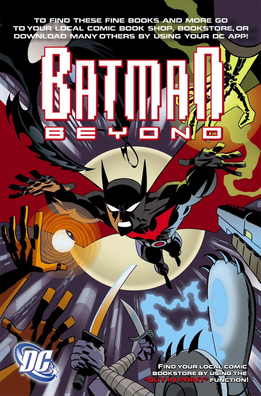 Batman Beyond 2010 | Viewcomic reading comics online for