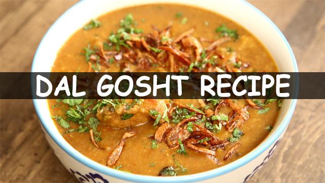 How To Make Dal Gosht Recipe   Dal Gosht Recipe   Hyderabadi Dal Mutton Gosht