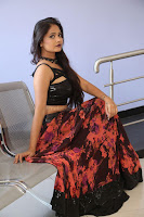 Shriya Vyas in a Tight Backless Sleeveless Crop top and Skirt 51.JPG