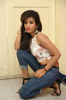 Deekshita Parvathi in a short crop top and Denim Jeans Spicy Pics Beautiful Actress Deekshita Parvathi January 2017 CelebxNext (95).JPG