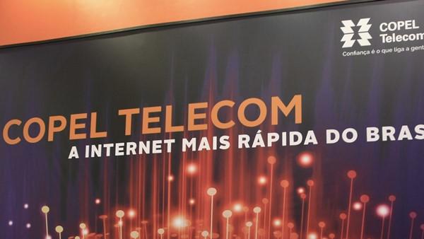 Teste de Velocidade da Copel Telecom - Speedtest