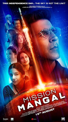 Mission Mangal 2019 Hindi Movie Pre-DVDRip 350Mb Download