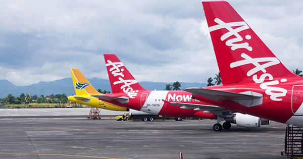 Philippine airline jets