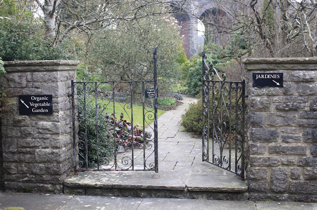 Kilver Court garden entrance
