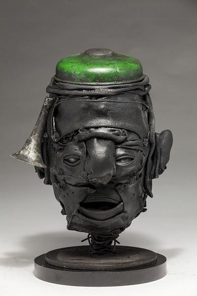 "Ronald Gonzalez - ""Green Cap"" - 2018 | imagenes obras de arte contemporaneo tristes, depresion, esculturas chidas, creative emotional sad art figurative pictures, cool stuff, deep feelings"