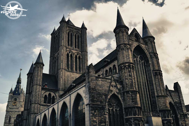 Gante - Ghent - Gent - Bélgica - Belgium - Iglesia San Nicolás