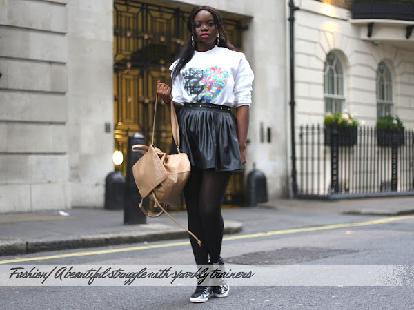 FASHION | A BEAUTIFUL STRUGGLE WITH SPARKLY TRAINERS FEATURING SUPERDRY AND EPHRAIM YEBOAH