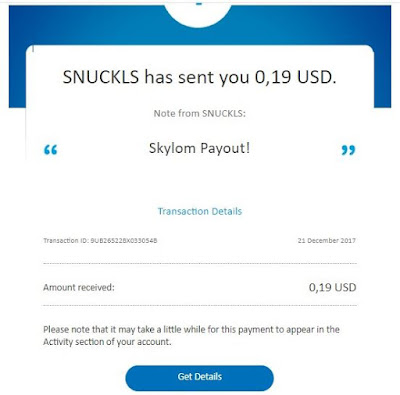 Dollar Gratis dari Skylom