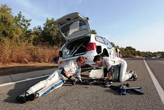 WRC racing