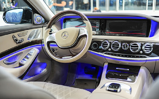 Bảng Taplo Mercedes S500 L 4MATIC thiết kế hiện đại nhiều tiện ích