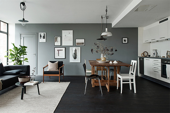 ilha na cozinha, cozinha, cozinha americana, cozinha integrada, parede cinza, kitchen island, decor