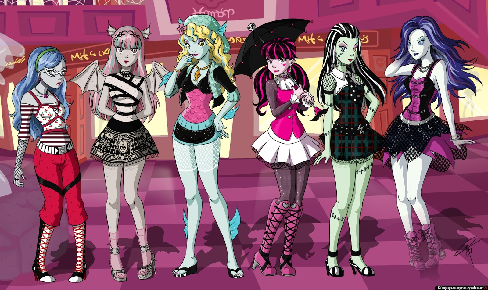 Fondos De Pantalla De Monster High: Wallpapers En HD De Las Monster High