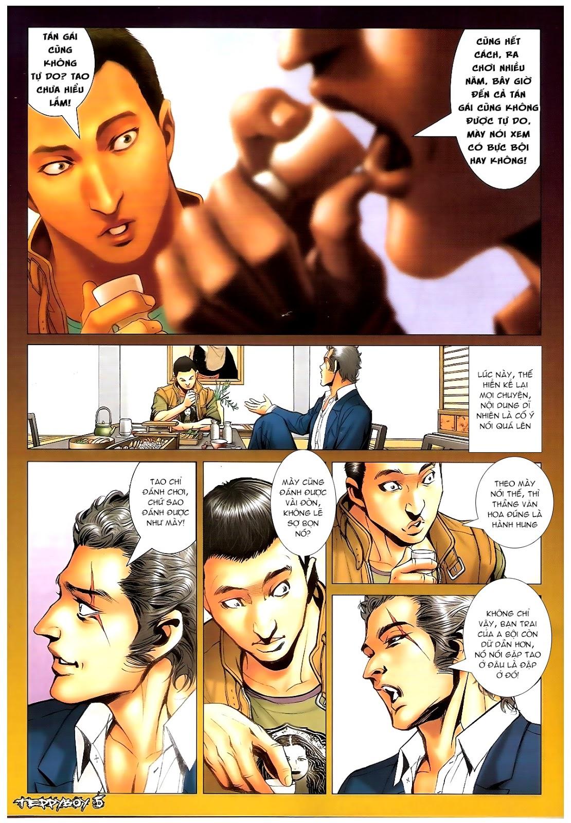 Người Trong Giang Hồ - Chapter 1378: Oan gia gặp nhau - Pic 4