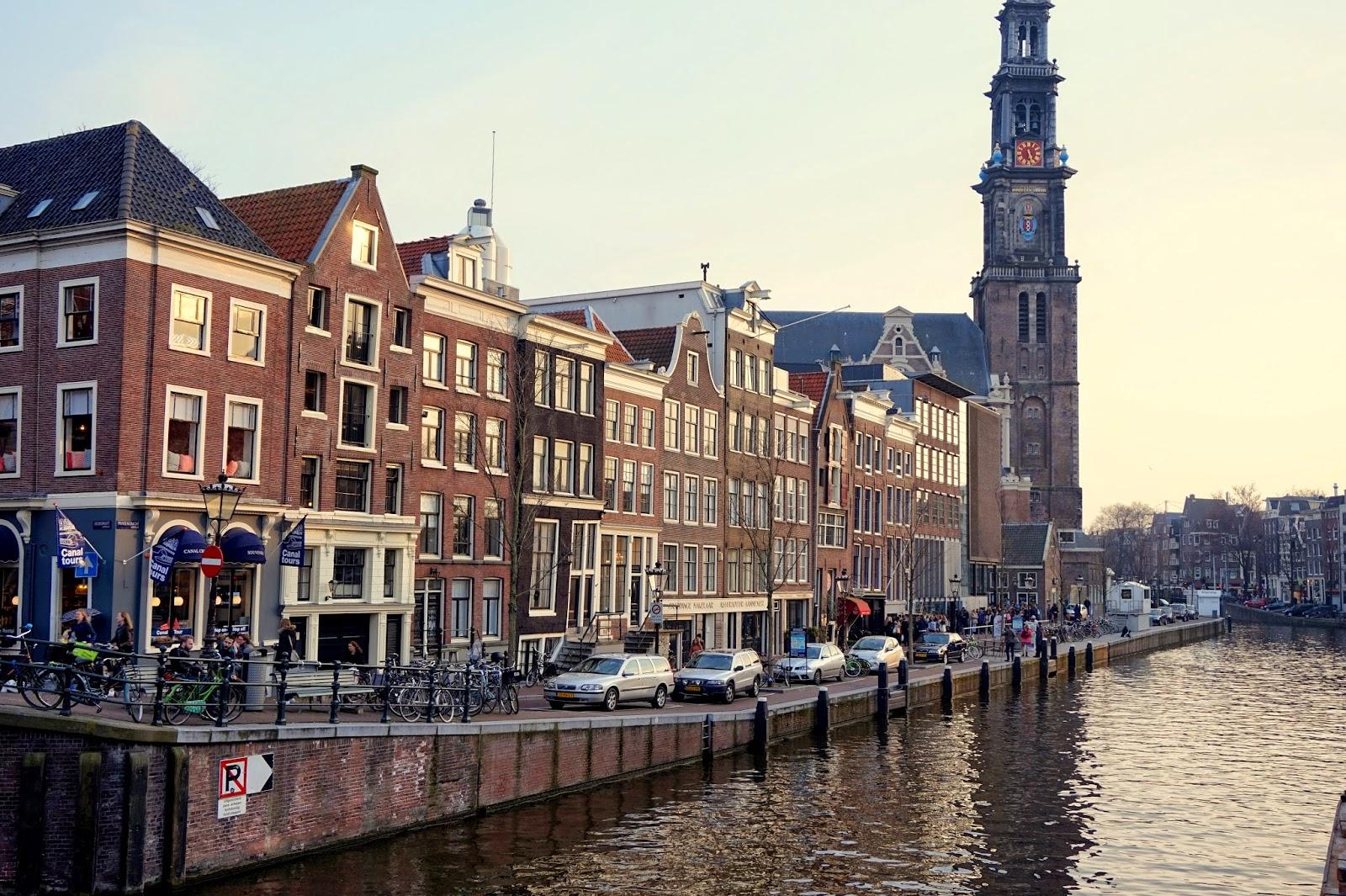 Im Anne Frank Haus in Amsterdam