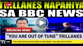 "2rVkOzL VIRAL NOW: Panoorin Trillanes Nagmukang tanga sa BBC News, BBC News ""You Are Out of Tune"" Mr. Trillanes!"