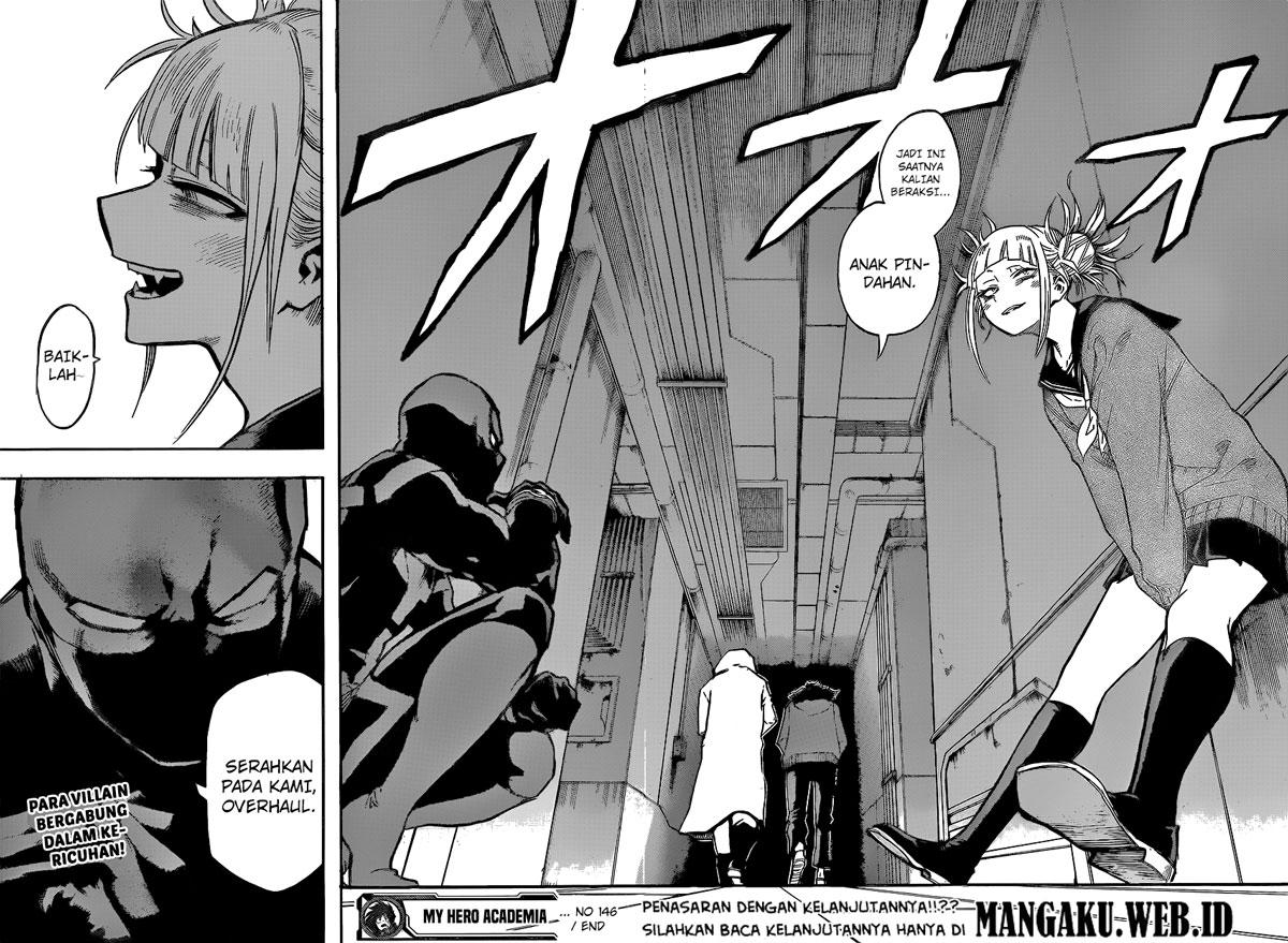 Boku no Hero Academia Chapter 146-16