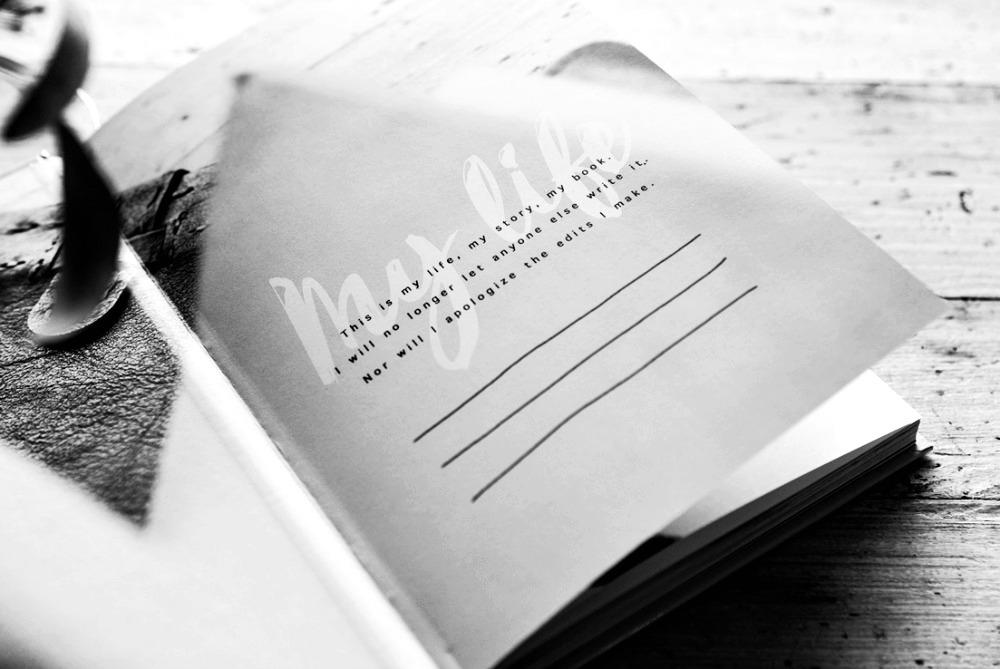 self-help, notebook, muistikirja, ajatuskirja, Visualaddict, valokuvaus, valokuvaaja, Frida Steiner, kotimainen, kirja, suomalainen, englanti, english, quotes, mietelause, huoneentaulu, inspiraatio, inspiration, photography, valokuvakirja, elämänhallinta, elämänmuutos, voimaantuminen