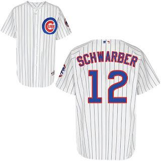 Kyle Schwarber Cubs Jersey