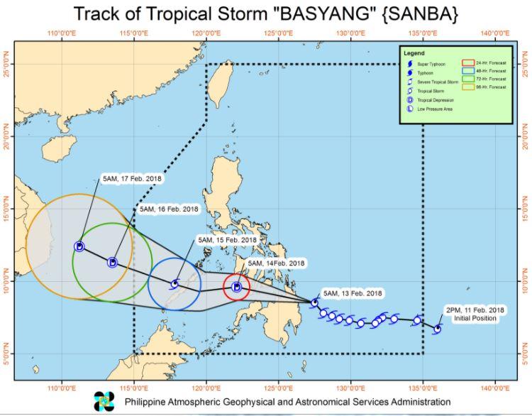 track Bagyong Basyang