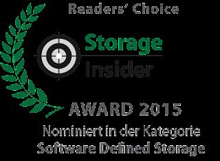 Storage Insider Award nominiert DataCore