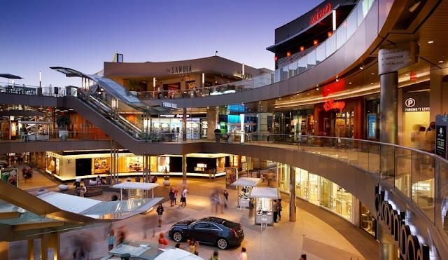 Santa Mônica Place em um roteiro de viagem em Santa Mônica