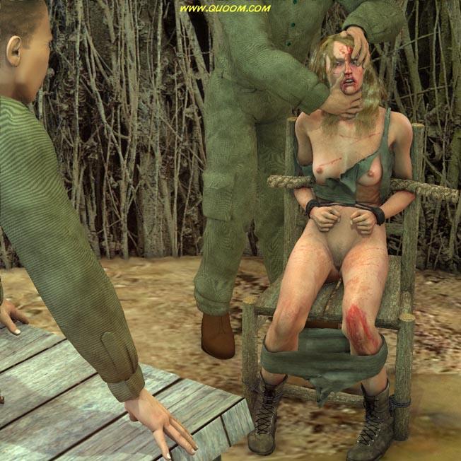 Секс рабыни мученице