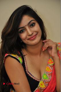 Actress Vaibhavi Joshi Pictures in Red Saree at tur Talkies 2 Movie Opening  0035