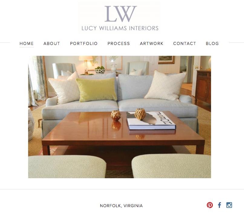 lucy williams interior design blog - Interior Design Blog Ideas